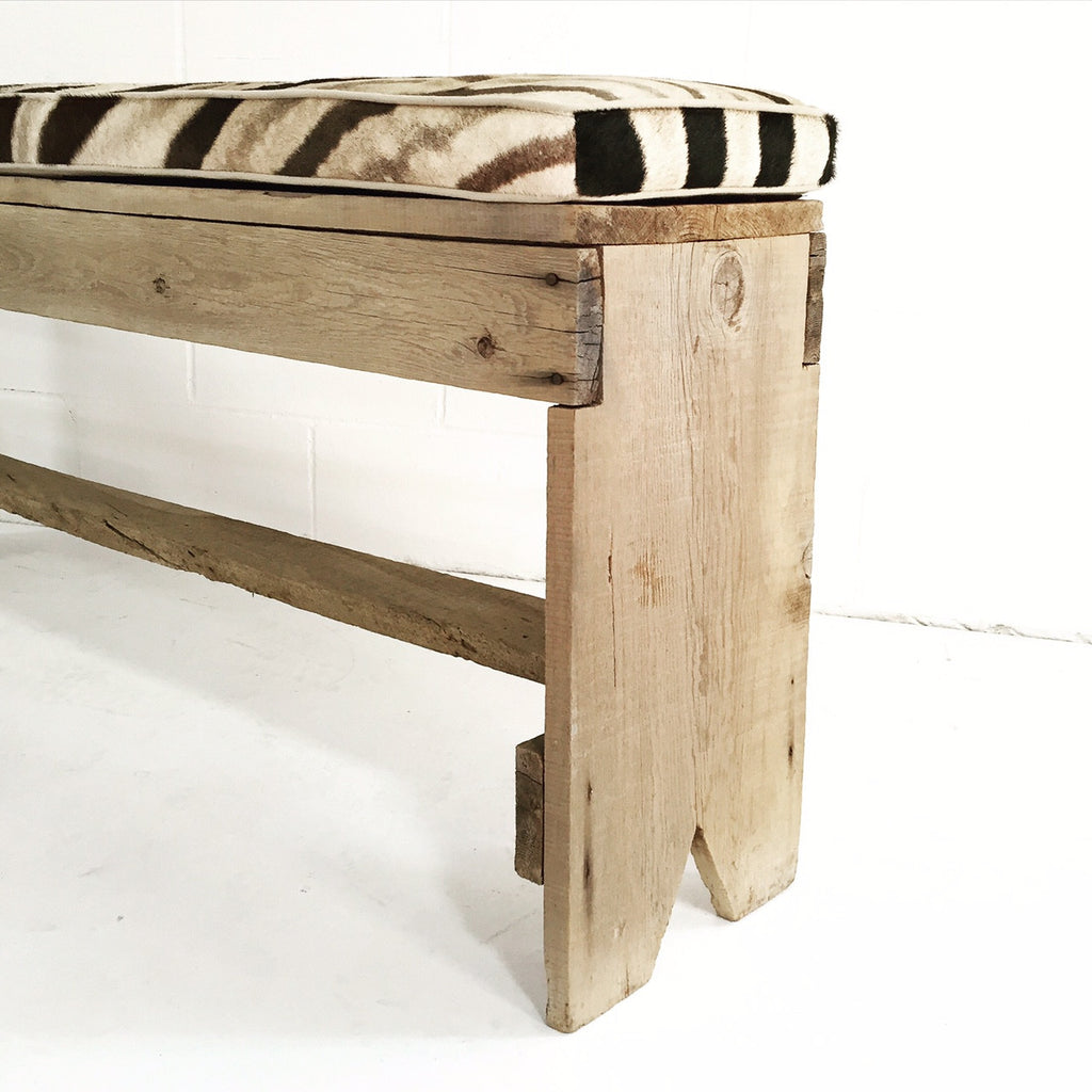 VINTAGE FARMHOUSE BENCH - NO.10 - FORSYTH