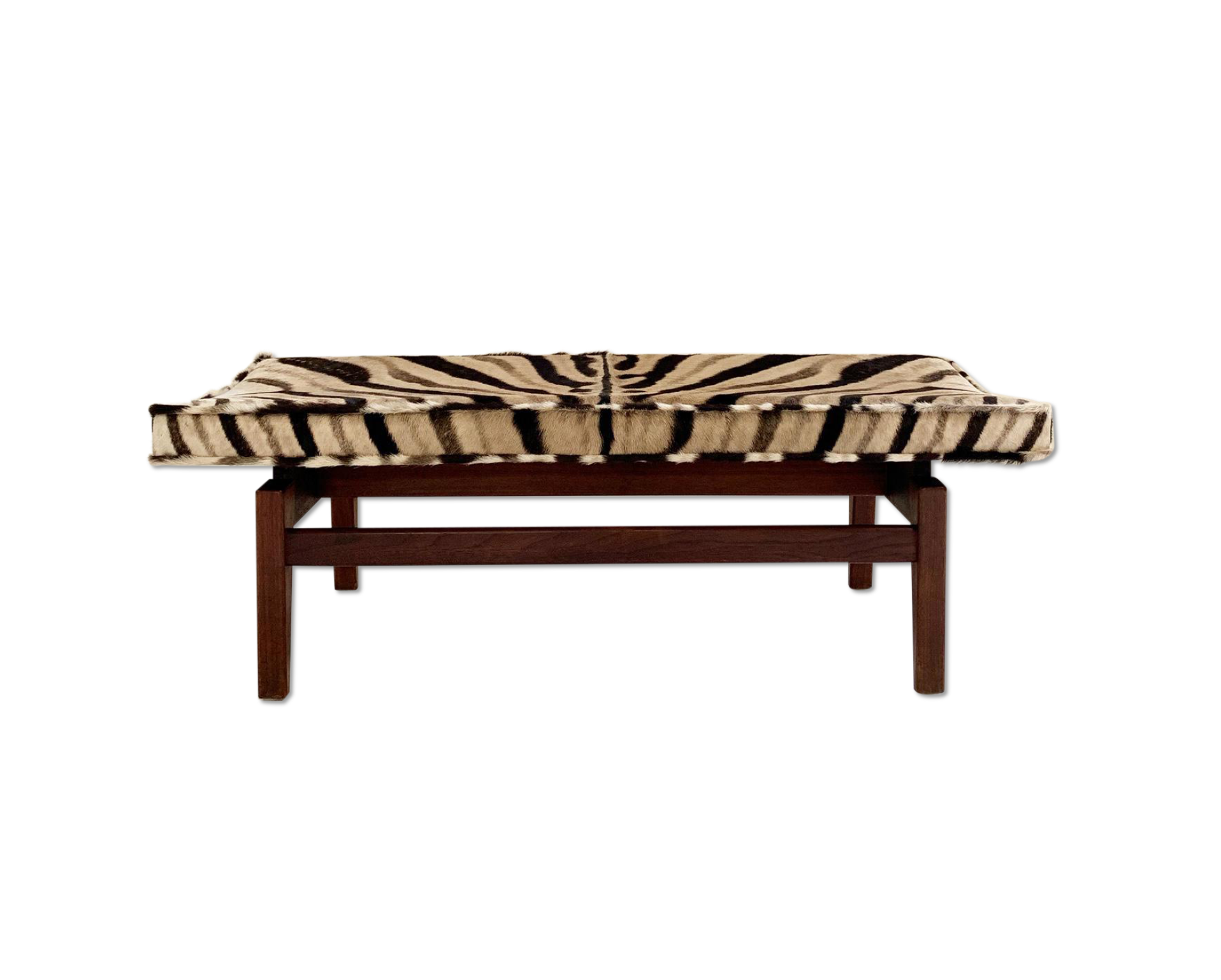 Bench in Zebra Hide - FORSYTH