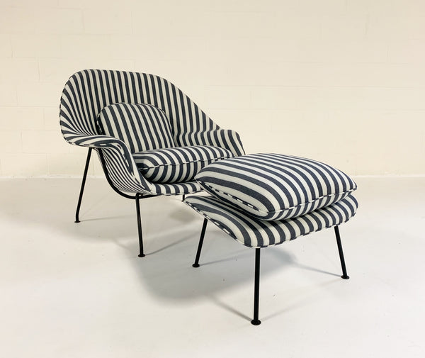 Eero Saarinen Womb Chair and Ottoman - FORSYTH