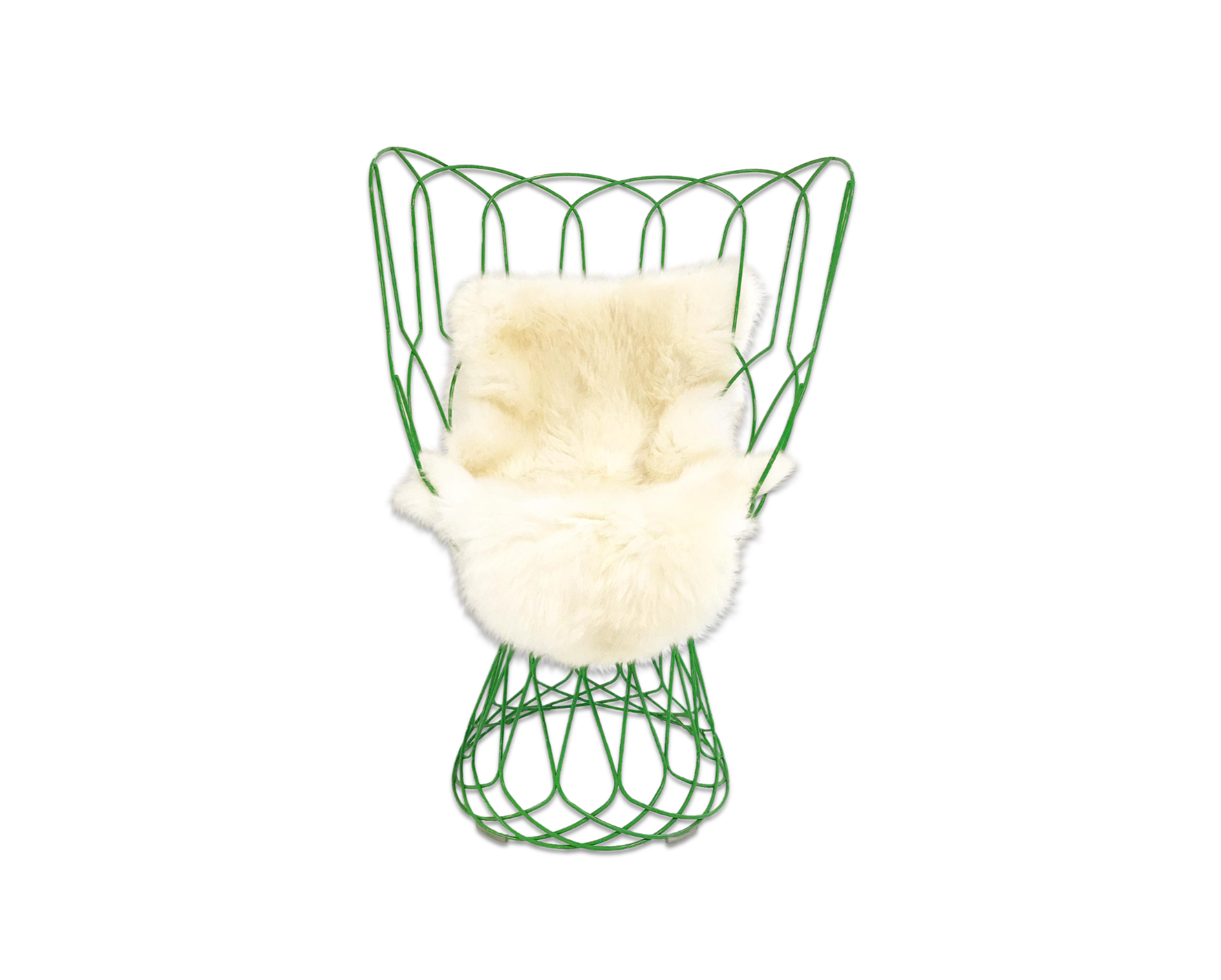 Re-Trouve Chair With New Zealand Sheepskin - FORSYTH