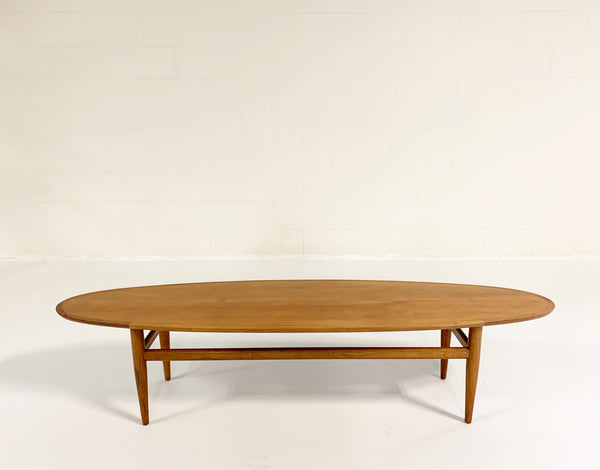 Walnut Surfboard Table - FORSYTH