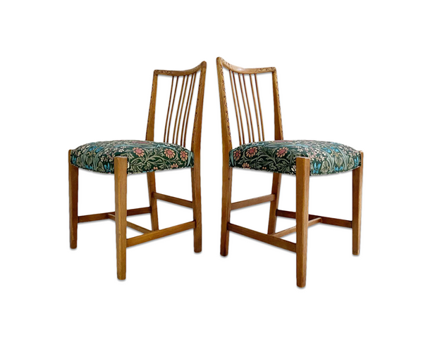 Dining Chairs in William Morris Blackthorn, Pair - FORSYTH