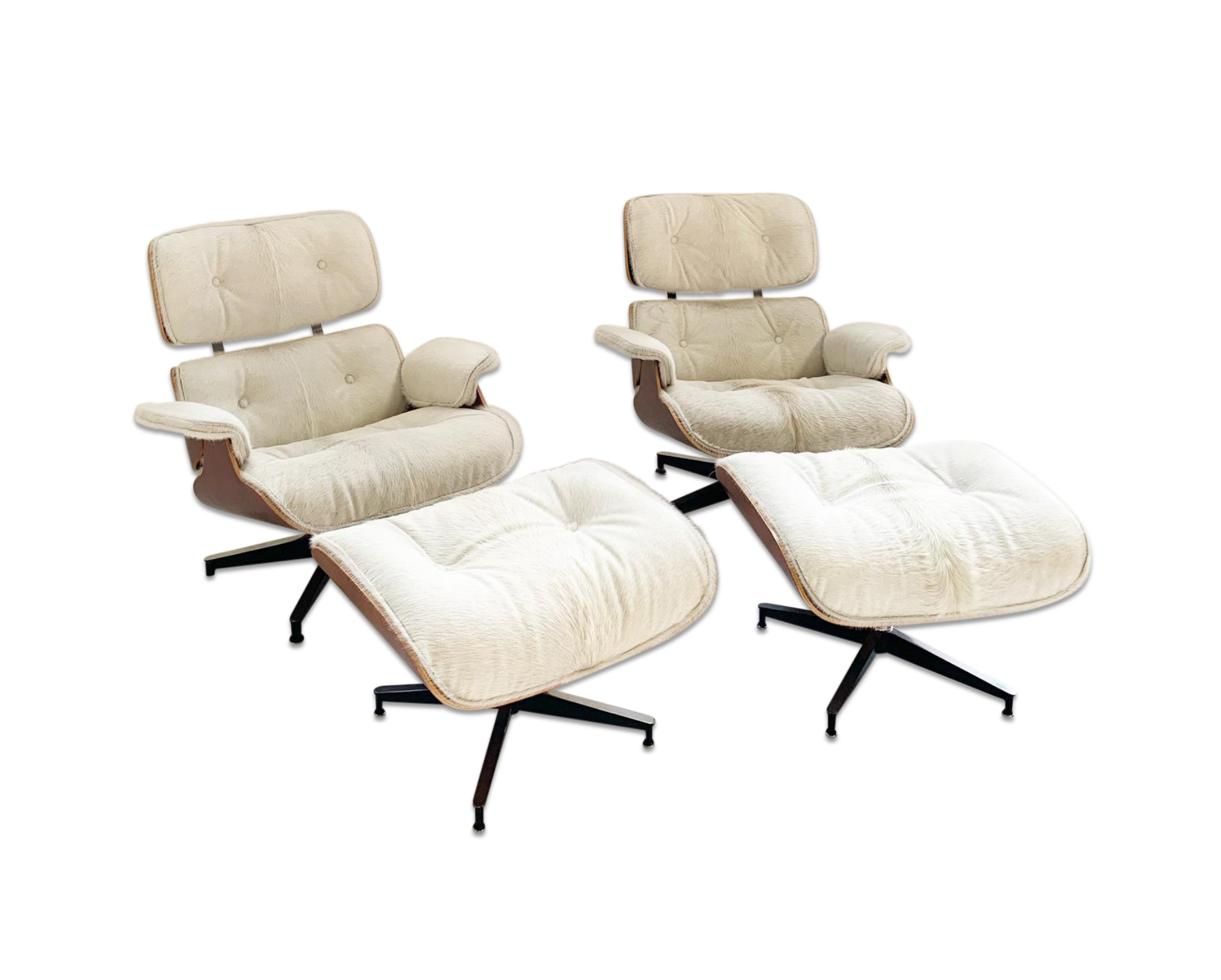 Terrific 670 Lounge Chairs And 671 Ottomans In Brazilian Cowhide Caraccident5 Cool Chair Designs And Ideas Caraccident5Info