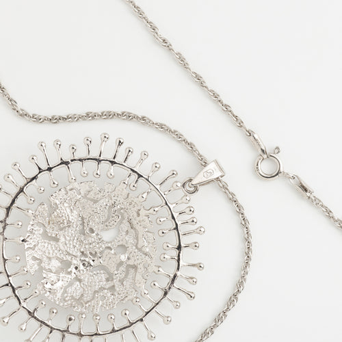 Moon Landscape Pendant Necklace