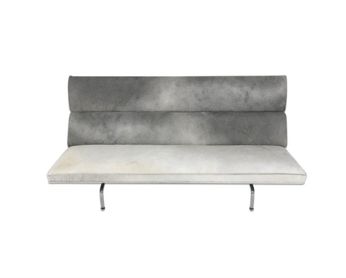 Compact Sofa in Brazilian Cowhide - FORSYTH