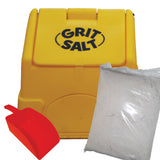 Grit Bin, White Road Salt & Scoop