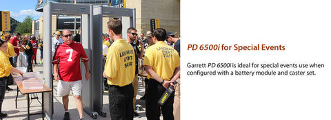 Garrett PD 6500i Walk-Through Detector (Gray Color)