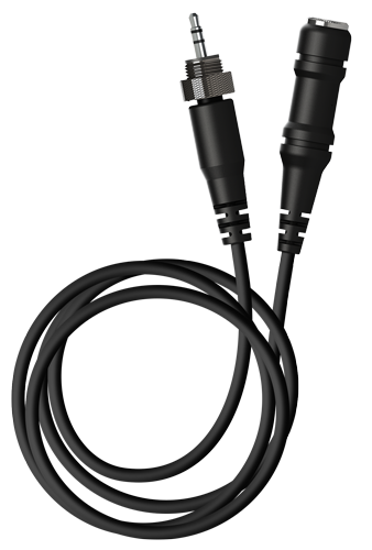Minelab Equinox Headphone Adaptor Cable 3.5mm (1/8-inch) to 6.35mm (1/4-inch)