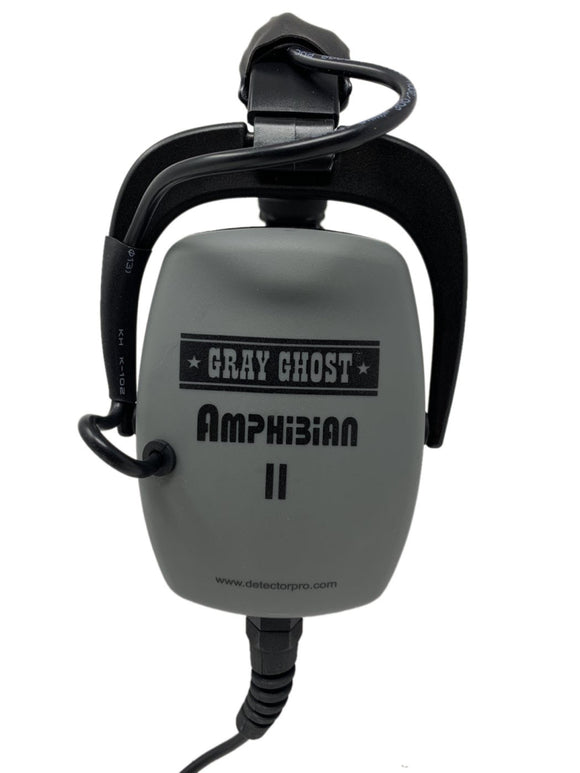 Gray Ghost Amphibian II Headphones for Nokta Kruzer