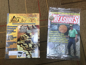 Metal Detecting Magazine Pack (3)