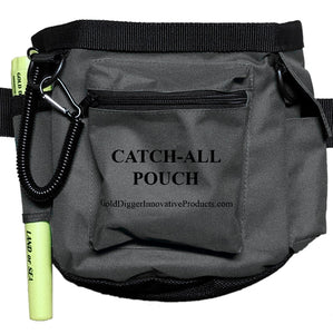 "Gray Ghost New & Improved ""Catch-All"" Pouch for Metal Detecting"
