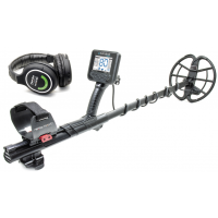Nokta Makro Anfibio 19 Waterproof Metal Detector + Wireless Headphones (Single Frequency 19 kHz for Relics and Gold Jewelry)