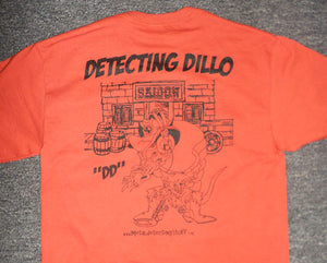 detecting dillo t-shirts