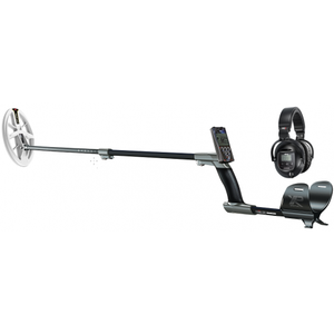 "XP DEUS With WS5 Full Sized Headphone + Remote + 9.5"" Elliptical High Frequency Search Coil"