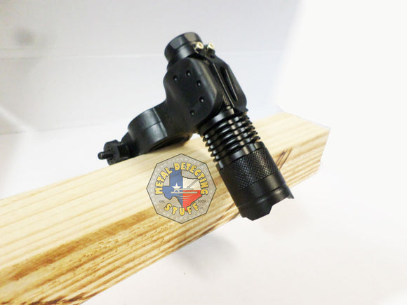 Cree led Flashlight + Pin-pointer/Flashlight Mount / Holder Night Hunting Tool!