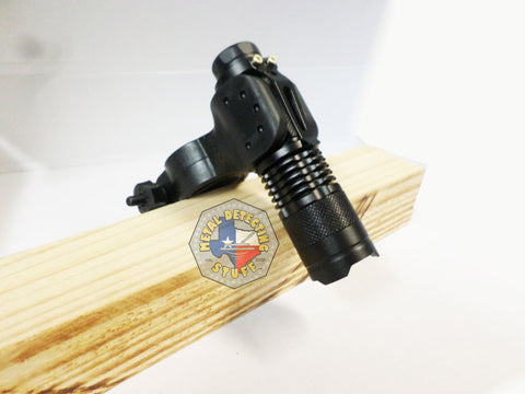 Cree led Flashlight + Pin-pointer/Flashlight Mount / Holder - Night Hunting Tool!