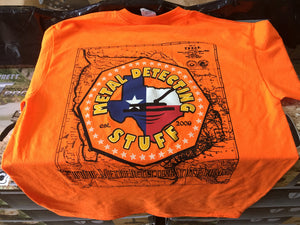 MDS Map Tee - Orange