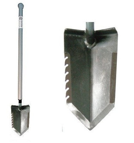 Lesche Sampson Ball Handle Digging Tool with Serrated Blade