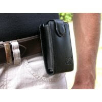 XP Leather Hip mount case for Deus and ORX remote control