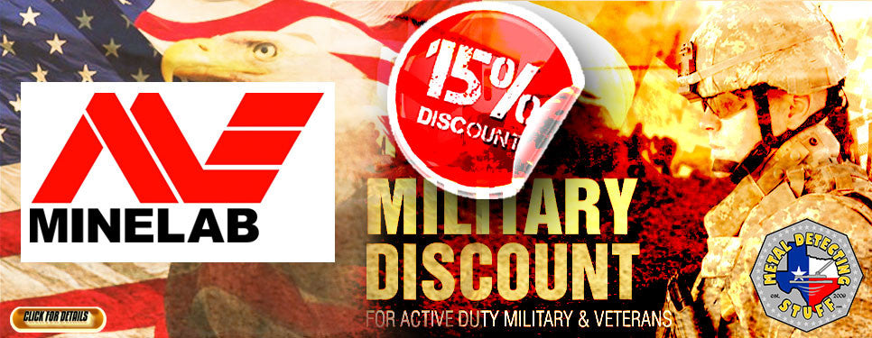 Minelab Military Discount