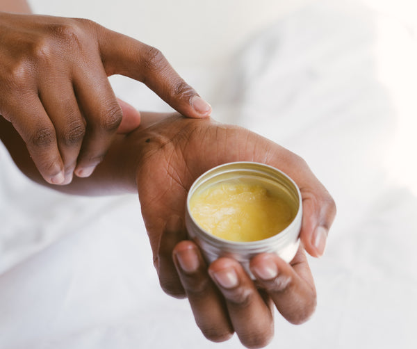 Simple Shea Butter Hair Mask for Dry Hair
