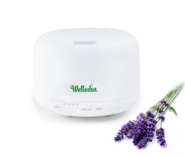 Welledia Breeze Ultrasonic Aroma Diffuser (500 ml) - #WEL-831