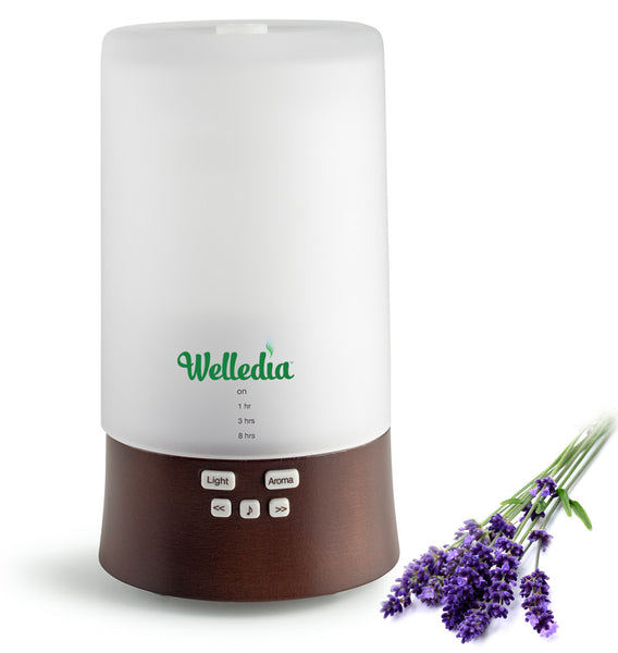 Welledia Oasis Ultrasonic Aroma Diffuser + Sound Machine - #WEL-844