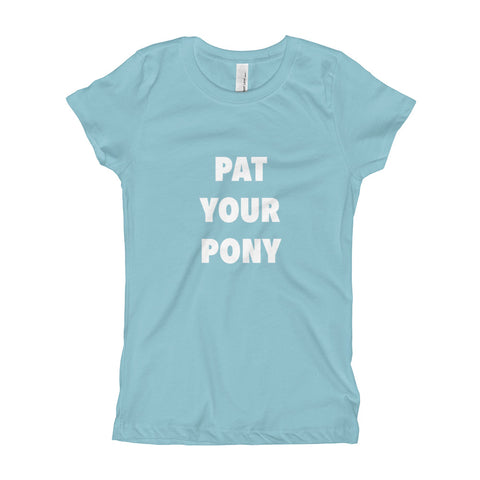 Pat Your Pony Girls Tee