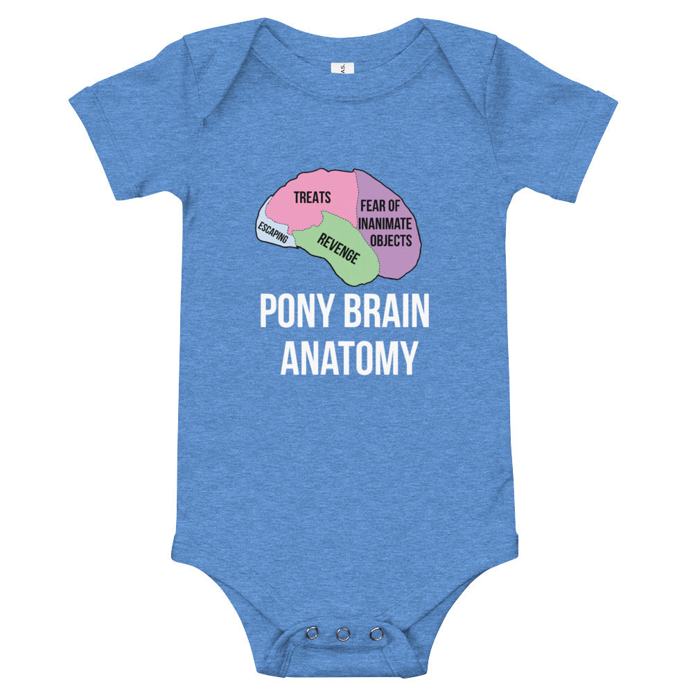 Pony Brain Diaper Shirt