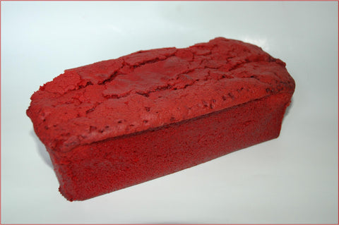 Red Velvet Pound Cake Loaf