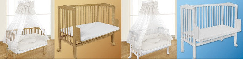 Co-Sleeping Cots/ Bedside Cots - FREE SHIPPING
