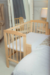 co-sleeper, co sleeper, co sleeping cot, co-sleeping cot, bedside cot, bedside-cot, baby bay, baby-bay, co sleeping, co-sleeping, bed sharing, bed-sharing, naturalnursery.ie, Natural Nursery, Natural Nursery Ireland, www.naturalnursery.ie