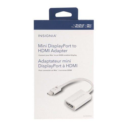 INSIGNIA Mini DisplayPort to HDMI Adapter (mac)