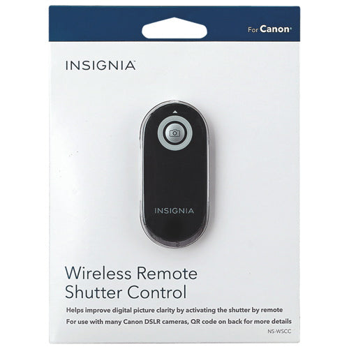 INSIGNIA Wireless Remote Shutter Control For Canon