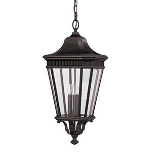 Cotswold Lane Exterior Pendant in Black