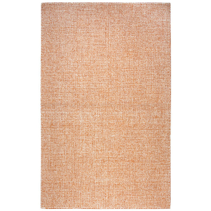 3' x 5' Rizzy Brindleton Orange Wool Rug
