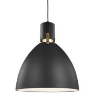 Brynne LED Pendant in Matte Black