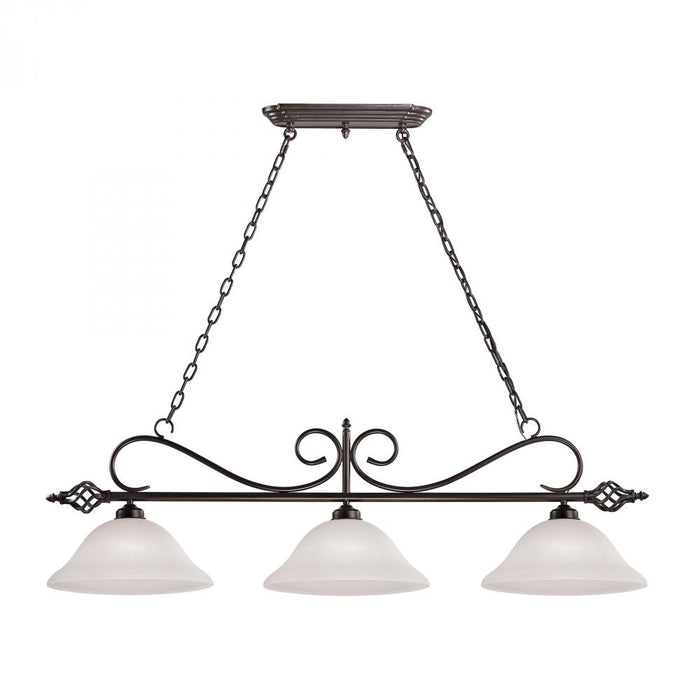 Santa Fe Pendant In Oil Rubbed Bronze