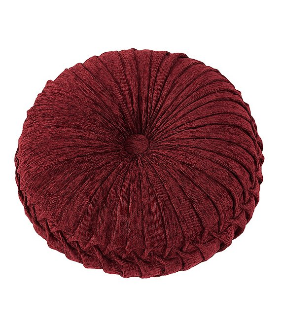 J. Queen New York Taormina Tufted Round Pillow