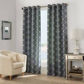 "95"" West Bay Grommet Window Curtain Panel Set"