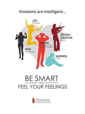 Be Smart and Feel Your Feelings Poster