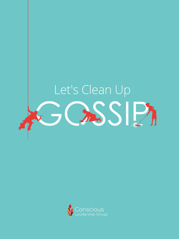 Let's Clean Up Gossip Poster