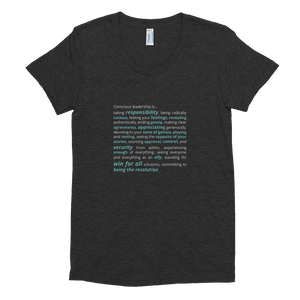 Conscious Leadership Is... Women's Tee