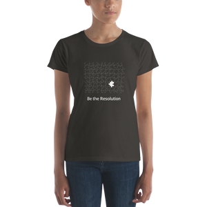 Be the Resolution Women's Tee