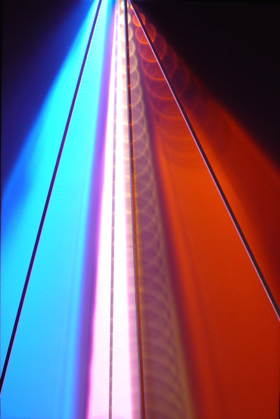 Light Painting - Pink, Orange, Blue, White