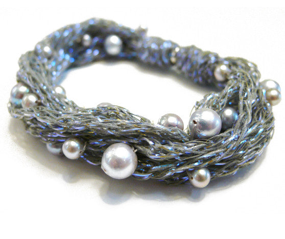 Nebula Bracelet with Pearls