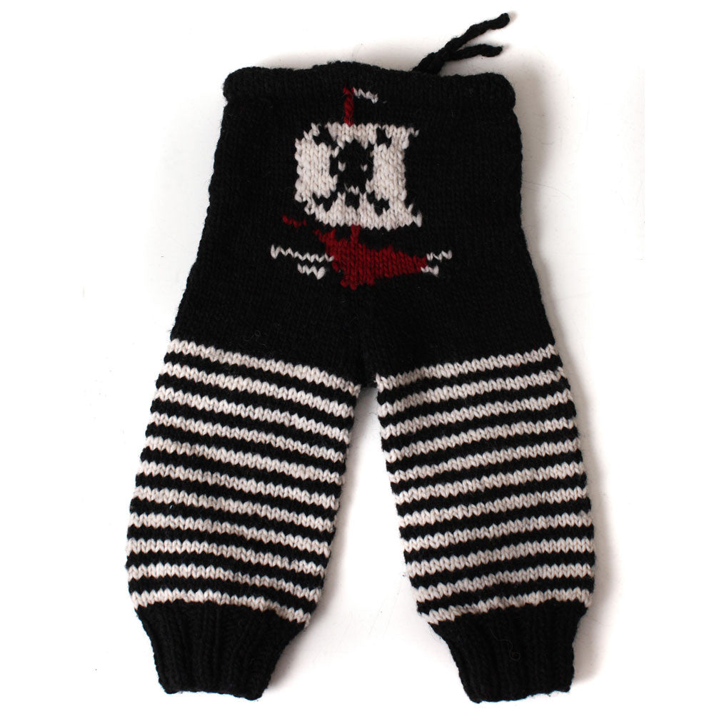 Jolly Roger Wool Longies