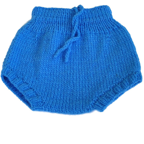 Blue Merino Wool Soaker