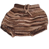 Brown Multi Wool Soaker