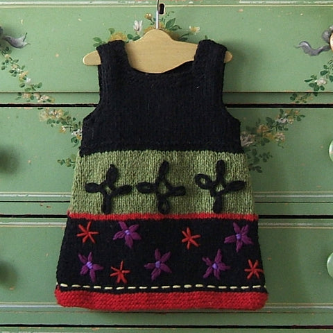 Nordic Hand Knit Wool Jumper